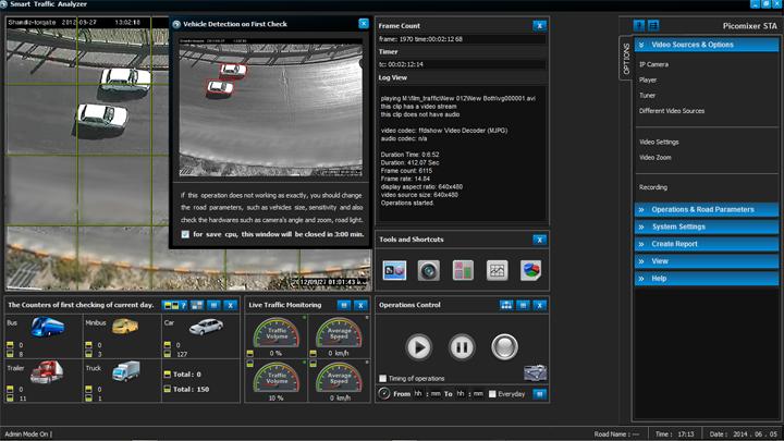 STA (Smart Traffic Analyzer) - Vehicle Counter Software
